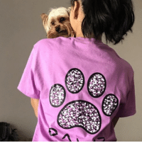 Thanks @pearl_vesa for and her yorkie for the support in our orchid mosaic tee! Order now at PawzShop.com: nal Thanks @pearl_vesa for and her yorkie for the support in our orchid mosaic tee! Order now at PawzShop.com