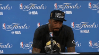 J.R. Smith, Nba, and Sports: nala  (a NBA  nala)  BA  ina  (a NBA  NBA NBA  inals  ONBA J.R. Smith is a real one feelz (via KennyDucey-Twitter)