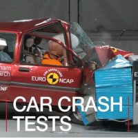 Cars, Memes, and 🤖: nam  SAFER  arch  EURO  NCAP  NF  CAR CRASH  TESTS 3 FEB: Watch how car-crash testing has changed in the last 20 years. Footage from the Euro NCAP crash testing shows how collisions have changed. 🎥: Euro NCAP. Find out more: bbc.in-carcrash Europe Driving Cars EuroNCAP BBCShorts BBCNews @BBCNews