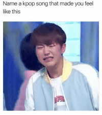 Mine has to be Dont Wanna Cry by Seventeen. The vocals and visuals killed me: Name a kpop song that made you feel  like this Mine has to be Dont Wanna Cry by Seventeen. The vocals and visuals killed me