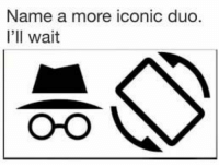 Memes, Snapchat, and Iconic: Name a more iconic duo.  I'll wait  O-O Add us on Snapchat : DankMemesGang 😏😏