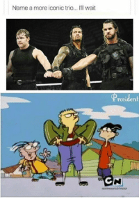 Memes, Providence, and Iconic: Name a more iconic trio... I'll wait  Provident  GN Ed-Boys vs. The Shield. Make it happen.