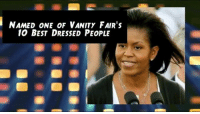 First Lady Michelle Obama celebrates her 53rd Birthday!: NAMED ONE OF VANITY FAIR's  10 BEST DRESSED PEOPLE First Lady Michelle Obama celebrates her 53rd Birthday!