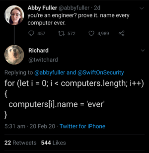 Naming every computer ever: Naming every computer ever