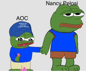 Autism, Patient, and Nancy Pelosi: Nancy Pelosi  AOC  Please be  patient  I have autism R/Politicalhumor is getting spammed by the_donald users.