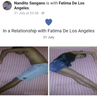 Love, Target, and Tumblr: Nandito Sangano is with Fatima De Los  Angeles  31 July at 03:38.  In a Relationship with Fatima De Los Angeles  31 July signfelledbaselyne:  signfelledbaselyne:  If our love ain't like this it isn't love  I just realized they were trying to make a heart shape and not make it look like they were bumping asses