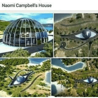 @Regrann from @candicemuhammad - Naomi Campbell received an island vacation home for her 41st birthday from her Russian billionaire boyfriend Vladislav Doronin, according to numerous online reports. It's shaped like the Egyptian Eye of Horus,also known as the Eye Of Ra, its the ancient Egyptian symbol of protection, royal power and good health.... The location known as Cleopatra Island, is in Turkey's Gulf of Gökova. Architect Luis de Garrido has designed a glass domed house is completely energy and water self-sufficient and features an amazing indoor landscaped terrace. Everything about this concept house is a dream: its comfortable micro climate, its constant flow of air, light and heat when necessary, its superior landscaping, and of course the fact that it was built on the Isla Playa de Cleopatra in Turkey (notice the Egyptian theme.) The resulting dome-shaped house has no less than 25 bedrooms and five lounges. If the world ends, Campbell and Doronin and a few dozen of their lucky friends just might be able to survive. The Eye Outline The black outline making up most of the eye design is comprised of photovoltaic panels, which works in combination with the geothermal system to provide all of the energy needed for the house. The multi-level central dome is framed with steel and clad in glazed glass panels that permit sunlight all year round. Although the greenhouse effect promotes natural heating, certain measures – such as landscaping and tilted louvers – ensure that the heat is bearable during the summer time. It will also have plenty of ventilation. Combined with the photovoltaic panels that make up the property's Eye of Horus shape, a state-of-the-art geothermal system provides all of the energy this 25 bedroom home (complete with five lounges) could possibly need. Rainwater is harvested, and an on-site biological system treats waste water. Inside, the house is a landscaped terrace, from which it is possible to take in the incredible views. EyeSeeYouQueenNaomi ;) Regrann: Naomi Campbell's House @Regrann from @candicemuhammad - Naomi Campbell received an island vacation home for her 41st birthday from her Russian billionaire boyfriend Vladislav Doronin, according to numerous online reports. It's shaped like the Egyptian Eye of Horus,also known as the Eye Of Ra, its the ancient Egyptian symbol of protection, royal power and good health.... The location known as Cleopatra Island, is in Turkey's Gulf of Gökova. Architect Luis de Garrido has designed a glass domed house is completely energy and water self-sufficient and features an amazing indoor landscaped terrace. Everything about this concept house is a dream: its comfortable micro climate, its constant flow of air, light and heat when necessary, its superior landscaping, and of course the fact that it was built on the Isla Playa de Cleopatra in Turkey (notice the Egyptian theme.) The resulting dome-shaped house has no less than 25 bedrooms and five lounges. If the world ends, Campbell and Doronin and a few dozen of their lucky friends just might be able to survive. The Eye Outline The black outline making up most of the eye design is comprised of photovoltaic panels, which works in combination with the geothermal system to provide all of the energy needed for the house. The multi-level central dome is framed with steel and clad in glazed glass panels that permit sunlight all year round. Although the greenhouse effect promotes natural heating, certain measures – such as landscaping and tilted louvers – ensure that the heat is bearable during the summer time. It will also have plenty of ventilation. Combined with the photovoltaic panels that make up the property's Eye of Horus shape, a state-of-the-art geothermal system provides all of the energy this 25 bedroom home (complete with five lounges) could possibly need. Rainwater is harvested, and an on-site biological system treats waste water. Inside, the house is a landscaped terrace, from which it is possible to take in the incredible views. EyeSeeYouQueenNaomi ;) Regrann