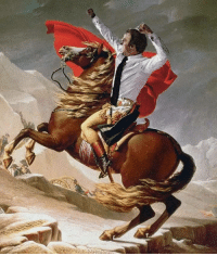 Napoleon, Moscow, and  Way: Napoleon on his way to Moscow (1812)