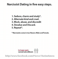 dating a narcissist girlfriend
