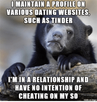 No cheaters dating website
