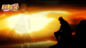 Naruto, Wife, and Rock: NARUTO Minato was really sitting on a rock for 16 years like...my guy go to your wife.