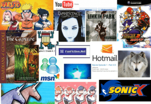 Emo, Naruto, and Tumblr: NARUTO  You  NIN TEND O  GAMECUBE.  Tube  Home  Broadcast Yourself  Videos  Categories  IVA  VANESCEN  ALLEN  LLA  K TTMES B  8 The Capture  HYBRID THEORY  ADVENTLURE  A SEGA PAL intona  gine it. Create it.  關FanFiction.Net  INTO THE WILD  Hotmail  Naruto Episode 1 - Part 3/3  Letterpres  9 years ago 85,374 views  Please subscribe if you like my upload's!-)  KAT  ERIN HUNTER  3:17  SONIC pazdispenser:stage 1 emo/weeb phase board