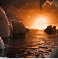 STUNNING: This illustration shows a glimpse at the possible surface of one of the Earth-sized planets discovered by NASA. For more on this story, visit FoxNews.com.: NASA/JPL-Caltech STUNNING: This illustration shows a glimpse at the possible surface of one of the Earth-sized planets discovered by NASA. For more on this story, visit FoxNews.com.