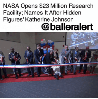 "NASA Opens $23 Million Research Facility; Names It After Hidden Figures' Katherine Johnson- blogged by @niksofly ⠀⠀⠀⠀⠀⠀⠀⠀⠀⠀⠀⠀⠀⠀⠀⠀⠀⠀⠀⠀⠀⠀⠀⠀⠀⠀⠀⠀⠀⠀⠀⠀⠀ The silver screen brought to life 99-year-old mathematician and science trailblazer, KatherineJohnson in the iconic film HiddenFigures. Johnson was affectionately deemed the ""human computer."" ⠀⠀⠀⠀⠀⠀⠀⠀⠀⠀⠀⠀⠀⠀⠀⠀⠀⠀⠀⠀⠀⠀⠀⠀⠀⠀⠀⠀⠀⠀⠀⠀⠀ Born in West Virginia in 1918, Johnson defied odds during a climate that not only limited the human rights of blacks, but denied women's respect. Johnson was among a select few black women NASA hired to configure trajectory calculations for their first space flight. ⠀⠀⠀⠀⠀⠀⠀⠀⠀⠀⠀⠀⠀⠀⠀⠀⠀⠀⠀⠀⠀⠀⠀⠀⠀⠀⠀⠀⠀⠀⠀⠀⠀ Because of Johnson instrumental role in NASA's space program, NASA dedicated their brand new, $23 million, 37,000 square foot, state of the art, facility in Johnson's honor. ⠀⠀⠀⠀⠀⠀⠀⠀⠀⠀⠀⠀⠀⠀⠀⠀⠀⠀⠀⠀⠀⠀⠀⠀⠀⠀⠀⠀⠀⠀⠀⠀⠀ Johnson who attended the ceremony stated, ""I always like something new. It gives credit to everybody who helped."" ⠀⠀⠀⠀⠀⠀⠀⠀⠀⠀⠀⠀⠀⠀⠀⠀⠀⠀⠀⠀⠀⠀⠀⠀⠀⠀⠀⠀⠀⠀⠀⠀⠀ The Katherine G. Johnson Computational Research Facility is located in Hampton, VA.: NASA Opens $23 Million Research  Facility; Names It After Hidden  Figures' Katherine Johnson  @balleralert NASA Opens $23 Million Research Facility; Names It After Hidden Figures' Katherine Johnson- blogged by @niksofly ⠀⠀⠀⠀⠀⠀⠀⠀⠀⠀⠀⠀⠀⠀⠀⠀⠀⠀⠀⠀⠀⠀⠀⠀⠀⠀⠀⠀⠀⠀⠀⠀⠀ The silver screen brought to life 99-year-old mathematician and science trailblazer, KatherineJohnson in the iconic film HiddenFigures. Johnson was affectionately deemed the ""human computer."" ⠀⠀⠀⠀⠀⠀⠀⠀⠀⠀⠀⠀⠀⠀⠀⠀⠀⠀⠀⠀⠀⠀⠀⠀⠀⠀⠀⠀⠀⠀⠀⠀⠀ Born in West Virginia in 1918, Johnson defied odds during a climate that not only limited the human rights of blacks, but denied women's respect. Johnson was among a select few black women NASA hired to configure trajectory calculations for their first space flight. ⠀⠀⠀⠀⠀⠀⠀⠀⠀⠀⠀⠀⠀⠀⠀⠀⠀⠀⠀⠀⠀⠀⠀⠀⠀⠀⠀⠀⠀⠀⠀⠀⠀ Because of Johnson instrumental role in NASA's space program, NASA dedicated their brand new, $23 million, 37,000 square foot, state of the art, facility in Johnson's honor. ⠀⠀⠀⠀⠀⠀⠀⠀⠀⠀⠀⠀⠀⠀⠀⠀⠀⠀⠀⠀⠀⠀⠀⠀⠀⠀⠀⠀⠀⠀⠀⠀⠀ Johnson who attended the ceremony stated, ""I always like something new. It gives credit to everybody who helped."" ⠀⠀⠀⠀⠀⠀⠀⠀⠀⠀⠀⠀⠀⠀⠀⠀⠀⠀⠀⠀⠀⠀⠀⠀⠀⠀⠀⠀⠀⠀⠀⠀⠀ The Katherine G. Johnson Computational Research Facility is located in Hampton, VA."