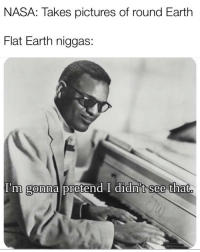 Logan Paul is gey: NASA: Takes pictures of round Earth  Flat Earth niggas:  I'm  gonna pretend I didn't see that. Logan Paul is gey