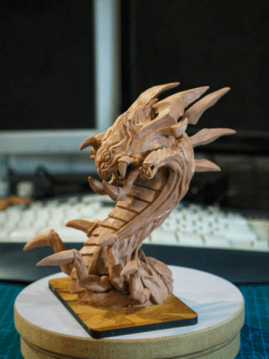 League of Legends, Hope, and League: Nashor. 1st post here..started do clay sculptures about 1.5 year ago..here is my last one - Baron Nashor from League of Legends. Hope you like it ^^