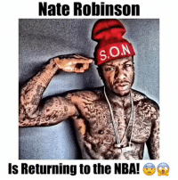 Nate Robinson  S.ON  IS Returning to the NBA! Nate Robinson wants to returns to the NBA! Which team?🔥🔥🔥🙌🏻 - Follow @basketballsyndrome for more! - Via: @latesthighlights