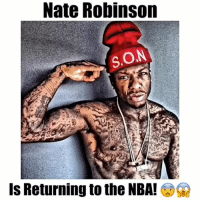 Nate Robinson  SON  Is Returning to the NBA! G2 Nate Robinson says he wants to return to the NBA! 😳😨 - Follow @latesthighlights for more!