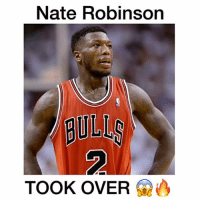 Nate Robinson  TOOK OVER | Yes or No: Nate Robinson should make a NBA Comeback 💥 • Follow @basketballstudios (me) for more Tags: NateRobinson Bulls Chicago WindyCity BullsNation SeeRed NBA Dunk Basketball Buckets Clutch ChiTown Memes NBAMemes Meme BasketballStudios