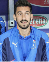 Fiorentina captain Davide Astori tragically passes away, aged 31. Our thoughts are with his family and friends at this terrible time.: natelli  retta  1812  LIA Fiorentina captain Davide Astori tragically passes away, aged 31. Our thoughts are with his family and friends at this terrible time.