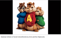 alvin and the chipmunks: National Anthem of Soviet Union (finnish) by Alvin and the Chipmunks