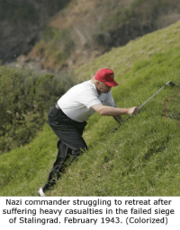 """<p>Just acquired this meme. Can I get an appraisal? via /r/MemeEconomy <a href=""""http://ift.tt/2m1zjdt"""">http://ift.tt/2m1zjdt</a></p>: Nazi commander struggling to retreat after  suffering heavy casualties in the failed siege  of Stalingrad. February 1943. (Colorized) <p>Just acquired this meme. Can I get an appraisal? via /r/MemeEconomy <a href=""""http://ift.tt/2m1zjdt"""">http://ift.tt/2m1zjdt</a></p>"""