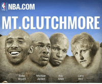 my Mount Clutchmore modeled after the most clutch players to ever play the game!🔥💯 who in your opinion was- is the best player in crunch time?!⏲🏀 ____________________________________________________ Lakers Lalakers TeamLakers DAngeloRussell JordanClarkson JuliusRandle BrandonIngram TheFuture LakersNews LakersGame Kobe KobeBryant BlackMamba Mamba Basketball NBA Laker4Life LakersAllDay michaeljordan GOAT LakerNation GoLakers @1ngram4 @jordanclarksons @dloading @juliusrandle30 @ivicazubac @larrydn7 @kobebryant @mettaworldpeace37: NBA.COM  MT.CLUTCHMORE  Michael  Ray  Larry  Bird  Bryant  Jordan  Allen my Mount Clutchmore modeled after the most clutch players to ever play the game!🔥💯 who in your opinion was- is the best player in crunch time?!⏲🏀 ____________________________________________________ Lakers Lalakers TeamLakers DAngeloRussell JordanClarkson JuliusRandle BrandonIngram TheFuture LakersNews LakersGame Kobe KobeBryant BlackMamba Mamba Basketball NBA Laker4Life LakersAllDay michaeljordan GOAT LakerNation GoLakers @1ngram4 @jordanclarksons @dloading @juliusrandle30 @ivicazubac @larrydn7 @kobebryant @mettaworldpeace37