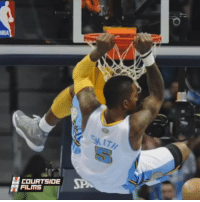 Memes, 🤖, and Beast: NBA  COURTSIDE  FILMS Young JR Smith was a BEAST