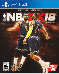 Rate this cover 1-10! Comment 👇👇 💥📷: @pristinestudios ️⃣: LeBron Kyrie Cavs NBA cleveland: NBA  EVERYONE 10  ESRB  KYRIE IRVING x LeBRON JAMES  PRISTINESTUDIOS Rate this cover 1-10! Comment 👇👇 💥📷: @pristinestudios ️⃣: LeBron Kyrie Cavs NBA cleveland