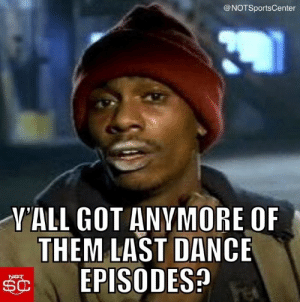 NBA fans, after the first 2 episodes of #TheLastDance https://t.co/kHRvwRcBU1: NBA fans, after the first 2 episodes of #TheLastDance https://t.co/kHRvwRcBU1