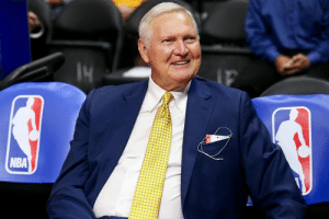 Jerry West continues to make banner moves as an executive:  ◾️ Helped build 1980s Lakers dynasty ◾️ Traded Vlade Divac for Kobe ◾️ Convinced Shaq to sign with LAL ◾️ Stopped Klay-for-Kevin Love trade ◾️ Helped recruit KD to Warriors ◾️ Signed Kawhi & PG13 in one night: NBA Jerry West continues to make banner moves as an executive:  ◾️ Helped build 1980s Lakers dynasty ◾️ Traded Vlade Divac for Kobe ◾️ Convinced Shaq to sign with LAL ◾️ Stopped Klay-for-Kevin Love trade ◾️ Helped recruit KD to Warriors ◾️ Signed Kawhi & PG13 in one night