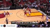 OH MAN! Miami's Tyler Johnson turns Drew Gooden into a poster here. 😱🏀🔥: NBA LEAGUE P  erican Airlines  ESPIT WSH 29  MIA 13  55.2  1 ST  RE wsi 15THOVERALL PICK IN 2015 NBA DRAFT (ATL)  ti miamiheat OH MAN! Miami's Tyler Johnson turns Drew Gooden into a poster here. 😱🏀🔥