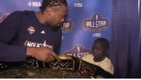 Jarrius Robertson continues to be the MVP of All-Star weekend 😂 (via @laclippers): @NBA  @NBA  @NBA  AR  ALLSTAR  @NBA Jarrius Robertson continues to be the MVP of All-Star weekend 😂 (via @laclippers)