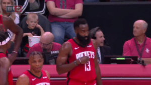 "Harden: ""See, you're supposed to pass me the ball. Only me.""   Westbrook: ""That's what I just said to you.""  Harden: ""Man...you aren't listening.""   Westbrook: ""No...YOU aren't listening.""  Harden: ""Sigh.""  https://t.co/FWMTdhdKOm: NBA NT  SAMS  pirVETS Harden: ""See, you're supposed to pass me the ball. Only me.""   Westbrook: ""That's what I just said to you.""  Harden: ""Man...you aren't listening.""   Westbrook: ""No...YOU aren't listening.""  Harden: ""Sigh.""  https://t.co/FWMTdhdKOm"