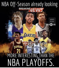 Basketball, Nba, and Sports: NBA Off-Season already looking  BREAKING  HOOPS  PALACE  BAMEMEZ  CLEVE  PHILA  21  MORE INTERESTING THAN THE  NBA PLAYOFFS Things are getting interesting in the NBA.. 👀 (@hoopspalace)
