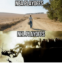 Hockey, Nba, and National Hockey League (NHL): NBA PLAYOFFS  /FB  TROLLS HOCKEY NHL PLAYOFFS Majority of NHL series had at least a game 6.