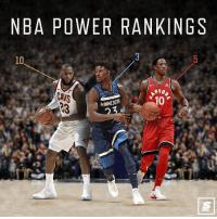 Cavs, Nba, and Link: NBA POWER RANKINGS  10  CAVS  10  MINNESOTA Link in bio for latest NBA Team Power Rankings! Who ya got at No. 1? 🤔 Sponsored via @theScore