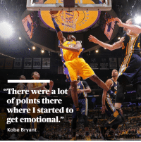 """2 years ago today, @KobeBryant dropped 60 points in his final game.   A lot of points indeed, Kobe. https://t.co/kBAqNE1FCq https://t.co/c7u8nXvNhg: NBA  TAYLOR  GRETZKY ROBITAILLE BLAKE  LF  LF  6 18 99 204  COXFERENC  UP STANLEY CUP  CHAMPIONS CHAMPIONS  2013-14 2011-12  2013-14  PA  """"There were a lot  TOSHIBA  of points there  where I started to  get emotional.""""  Kobe Bryant 2 years ago today, @KobeBryant dropped 60 points in his final game.   A lot of points indeed, Kobe. https://t.co/kBAqNE1FCq https://t.co/c7u8nXvNhg"""