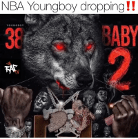 nbayoungboy dropping a project before the end of 2018‼️ You need that or keep that⁉️ Follow @bars for more ➡️ DM 5 FRIENDS: NBA Youngboy dropping!!  YOUNGBOY  38  ABY nbayoungboy dropping a project before the end of 2018‼️ You need that or keep that⁉️ Follow @bars for more ➡️ DM 5 FRIENDS
