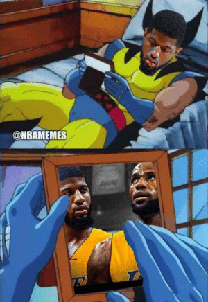Be Like, Nba, and Paul George: @NBAMEMES Paul George be like...
