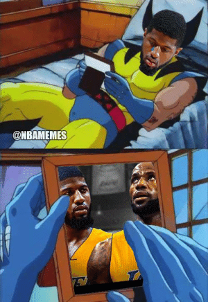 Be Like, Paul George, and Paul: @NBAMEMES Paul George be like... https://t.co/0IZqIjISxA