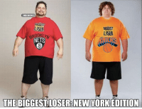 The Biggest Loser: New York Edition!: @NBAMEMES  RIGGEST  LASER  BIGGEST  LOSER  NETS  THE BIGGEST LOSER: NEW YORK EDITION The Biggest Loser: New York Edition!