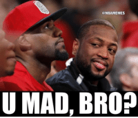 Dwyane Wade be like...: @NBAMEMES  U MAD, BRO? Dwyane Wade be like...