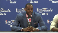 """Fail, Finals, and Life: NBATV  NBA.COM  NBATL  inals  NBA  TV  NBA TV  TV  ne """"All the people that were rooting on me to fail, at the end of the day, they have to wake up tomorrow and have the same life that they had before they woke up today.""""  - LeBron after the 2011 NBA Finals  https://t.co/z9f7EqEZEy"""