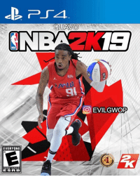 Memes, Quavo, and Wshh: NBAZ 13  9  O EVILGWOP  EVERYONE  CONTENT RATED BY  ESR B Quavo for the 2K19 cover?! 👀😂 @evilgwop WSHH