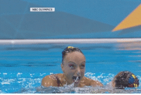 when the acid kick in, and there is now a shark coming towards you while you in the olympic swimming pool: NBC OLYMPICS when the acid kick in, and there is now a shark coming towards you while you in the olympic swimming pool