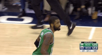 Kyrie hit back-to-back threes in the clutch for the win 🔥: NBCSceltics  125  WSH 123  OT :37.1 23 Kyrie hit back-to-back threes in the clutch for the win 🔥
