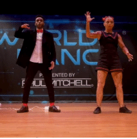 9gag, Makeup, and Memes: NC  P. ENTED BY  FUL MITCHELL The Puppet and The Puppet Master 💃Follow @9gaggroove - Choreo: @jajavankova @bdash_2 - Music: p&pm @bdash_2 - Makeup: @ohamarie - at @worldofdance 9gag animator dance puppet popping