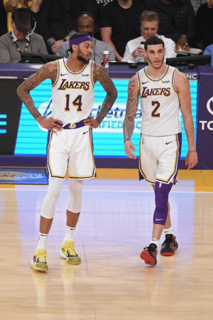 Los Angeles Lakers, Takers, and Marc: NC  wish  TAKERS  14  wish  TAKERS  etr  etr2  TOC  FIED Lakers have made Ingram, Lonzo and the No. 4 pick in the draft available in trade talks with the Pelicans, per Marc Stein