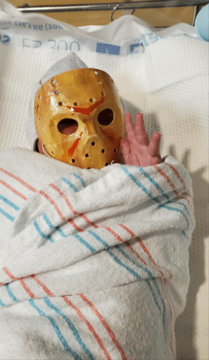 My daughter was scheduled to be born today, (Friday the 13th) so I made her a little something to mark the occasion.: NCH My daughter was scheduled to be born today, (Friday the 13th) so I made her a little something to mark the occasion.
